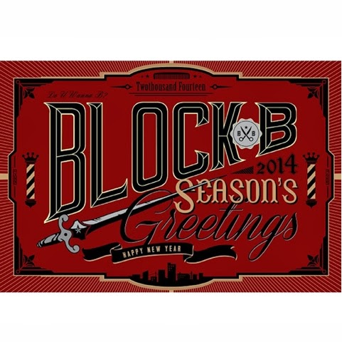 Block B 2014 Season greetings