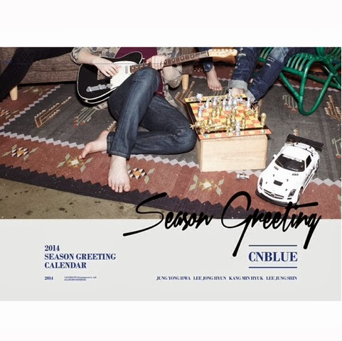 CN Blue 2014 Season Greetings