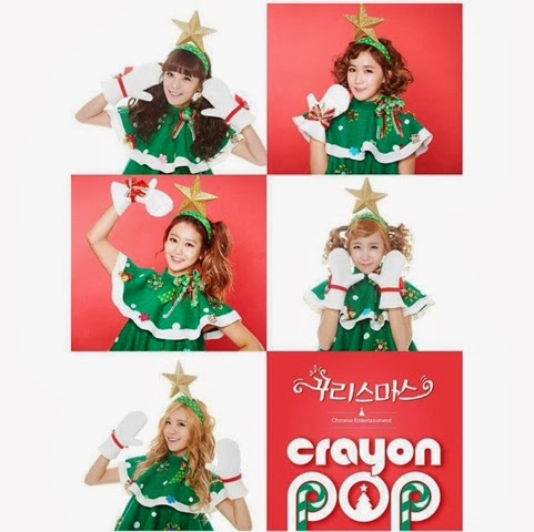 Crayon Pop Christmas Special Single