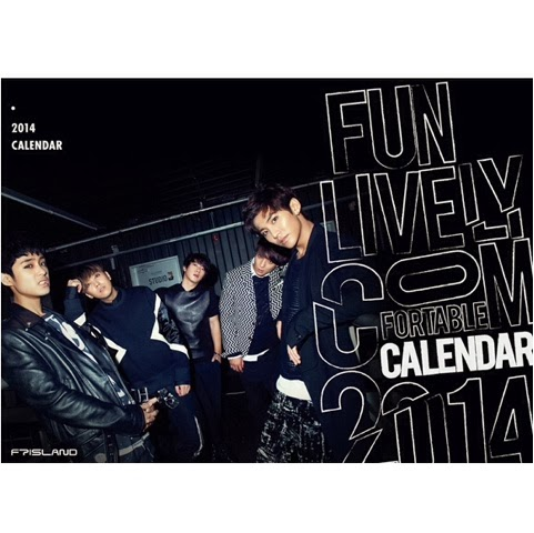 Ft Island 2014 Season Greetings