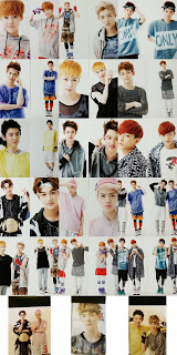 SM Official Goods EXO Growl Photocards