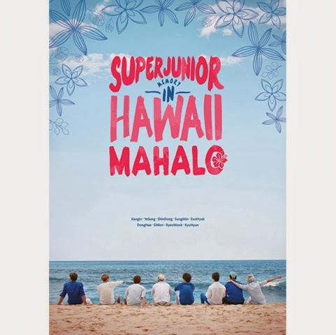 SUJU Memory in Hawaii Mahalo Photobook