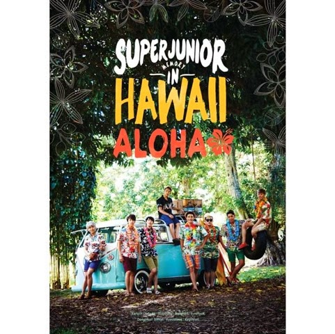 SUJU Memory In Hawaii photobook