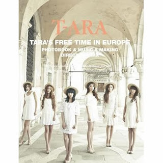 T-ara Free Time In Europe DVD
