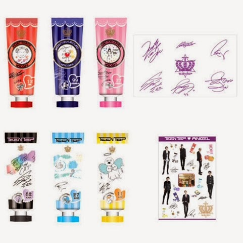 Teen Top Handcream set