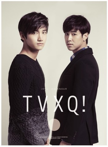 TVXQ 2014 Season Greetings