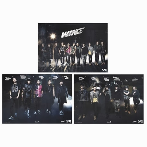 YG Official Goods WIN Sticker set